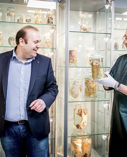 Universiteit Hasselt opent 'orgaanmuseum'