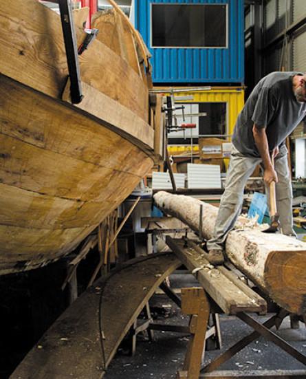 Uit de kennisbank: scheepsbouw en scheepsrestauratie