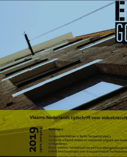 Nieuw nummer 'Erfgoed van Industrie en Techniek' beschikbaar